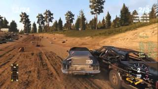 Next Car Game (Wreckfest) FPS Тест на Pentium G3240 + GTX 660 + Afterburner + ShadowPlay