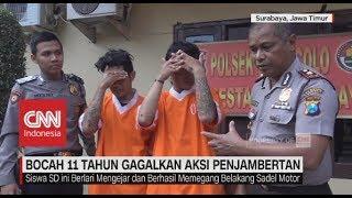 Viral! Bocah 11 Tahun Gagalkan Aksi Penjambretan