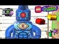 LEGO DC Super Villains 112 STOMPA A CABEÇA DELES 100 MINIKITS GRAFITE PERSONAGEM E BLOCO VERMELHO mp3