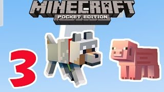 Minecraft PE - Survival Mode - Gameplay Part #3 - Let's Play Video Game Commentary - MCPE
