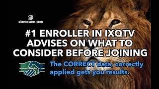 IXQTV | #1 Recruiter On What To Consider Before Joining IXQTV