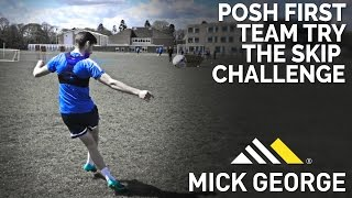 Peterborough United Try The Mick George Skip Challenge