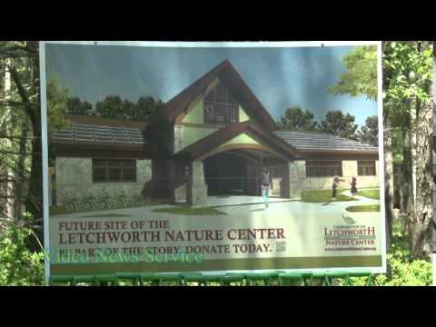 GOV. CUOMO ANNOUNCES GROUNDBREAKING OF YEAR-ROUND NATURE CENTER AT LETCHWORTH STATE PARK