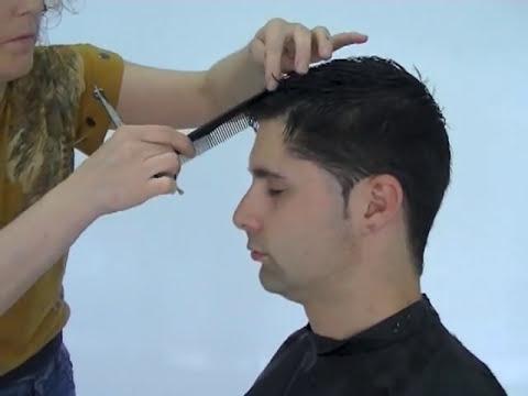 Corte chico joven a tijera y despuntado