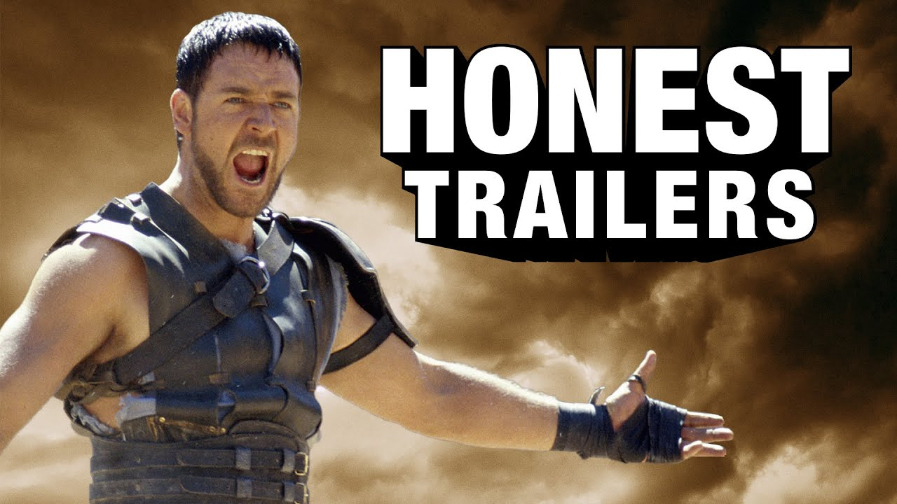[Gladiator Gets Put In Its Place By Honest Trailers] Video