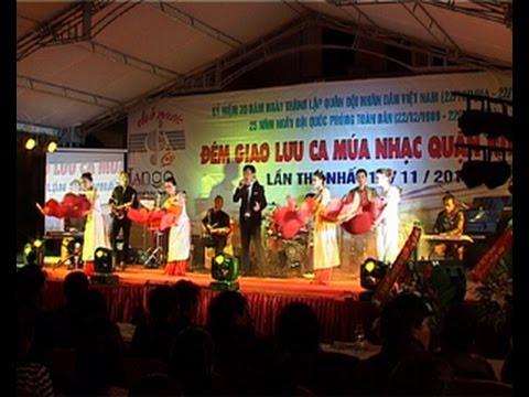 Đêm giao lưu bạn yêu nhạc quận Kiến An lần thứ nhất