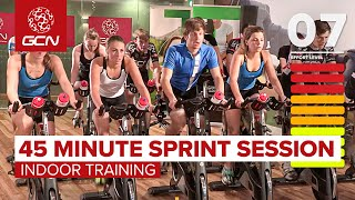 45 Minute Cycle Training Workout - Sprint Training