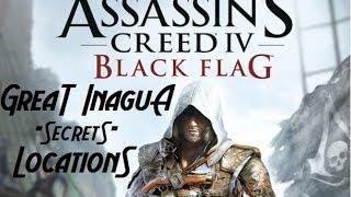 """Assassins Creed 4 Black Flag   Great Inagua """"Secrets"""" Locations"""