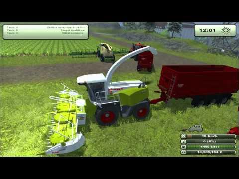 FARMING SIMULATOR 2013 CLAA JAGUAR 980+ORBIS 750