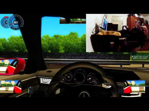ALN1001 GAMEPLAY - City Car Driving - ALUCINADO - Tipo ROTA - Tocada de MALANDRO