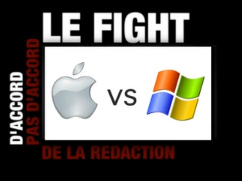 Mac OS contre Windows : le fight !