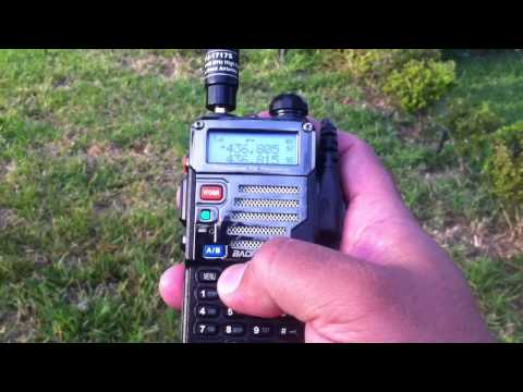 How to Work Amateur Ham Radio Satellite w Baofeng UV5R MFJ on Saudisat SO-50