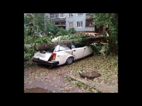 Последствия урагана в Кирове 18.07.2017 года
