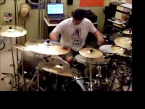 Jeff Routen - Godsmack - Keep Away (drum Cover) video