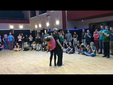 ZoukTime2018: with Leticia & Pablo in Saturday workshop demo ~ Zouk Soul