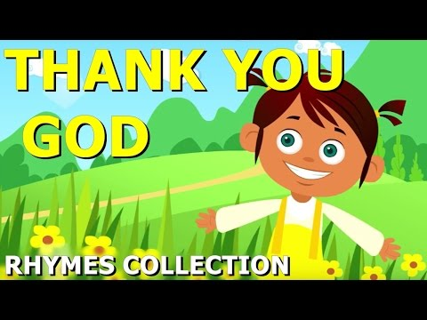 Thank You God Nursery Rhyme | Nursery Rhyme for Kids | Twinkle TV