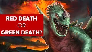 The Truth about the Red Death? [ Green Death l School of Dragons l Books l EXPLAINED ]