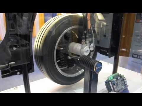 Michelin activewheel in hub electric motor at evs26 how for Protean electric motor for sale