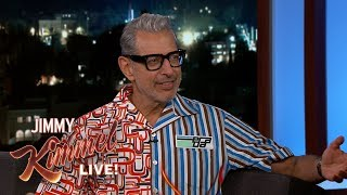 Jeff Goldblum Sings a Dirty French Song