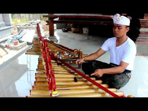 Teknik Permainan Rindik Tradisional Bali. Do You Want To Study Rindik Balinese?