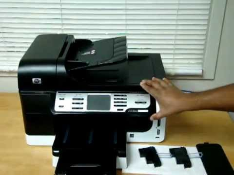 HP Officejet Pro 8500 (Ink & Printhead Removal)