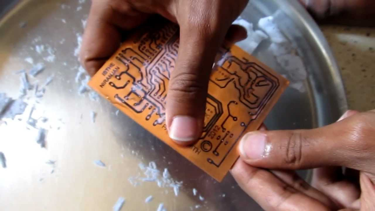 Making Of Pcbs At Home Diy Using Inexpenive Materials