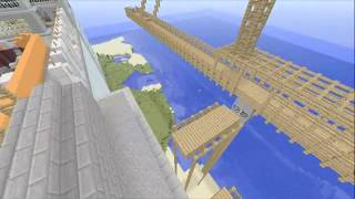 Minecraft Xbox 360 Build 1. Mw2 Map Highrise.