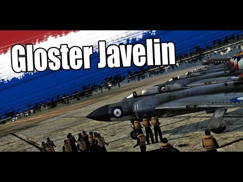 War thunder Short Film - Gloster Javelin