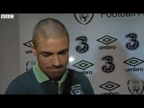 Republic of Ireland v Austria - Post Match Interviews - O'Shea, Walters and Sammon (26/3/13)