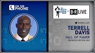 Broncos Hall of Famer Terrell Davis Talks Pat Bowlen's Passing with Rich Eisen | Full Interview