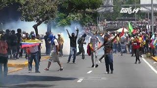 (VTC14)_Venezuela chìm trong biểu tình bạo động