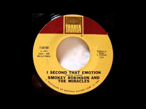 Smokey Robinson - I Second That Emotion