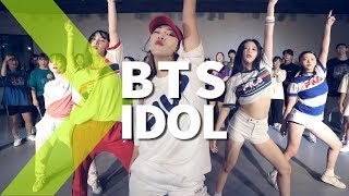 Bts 방탄소년단 Idol Ft Nicki Minaj Janekim Choreography