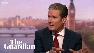 Keir Starmer suggests Labour could back Brexit deal if second referendum attached