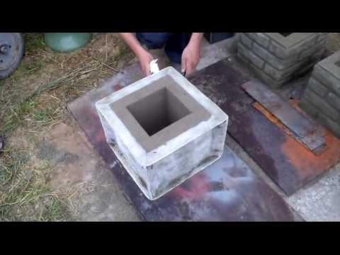 Блоки для столбов своими руками 52