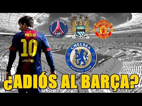 El problema de Lionel Messi se llama Luis Enrique (Según la prensa).