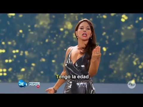 ¡Muy seductora! 'Amparo Gritales' llevó su golpe glótico a Yo Me Llamo | Voz Populi Te Ve