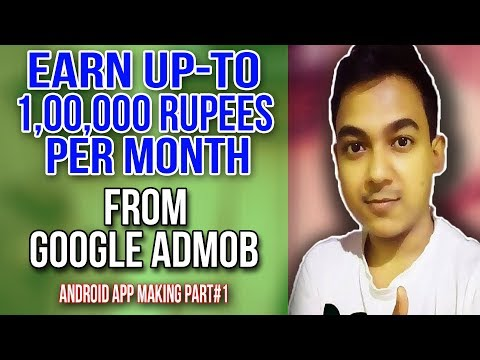 How To Earn Up-To 100000 Per Month From Google AdMob By Making Android Apps - Admob Account Creation