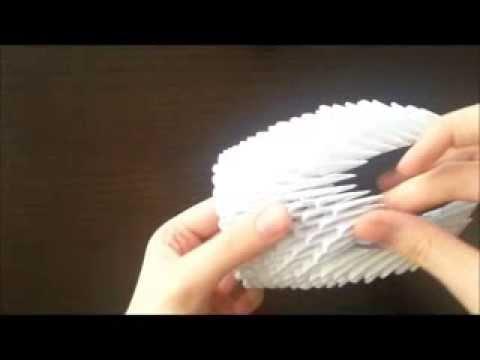 3D origami kuğu nasıl yapılır?