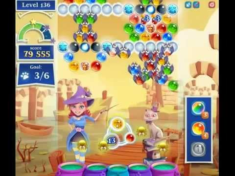 Bubble Witch Saga 2 Level 136