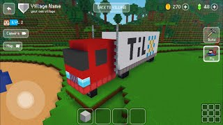 Block Craft 3D : Building Simulator Games For Free Gameplay #302 (iOS & Android) | Truck