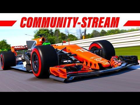 F1 2017 Livestream ab 19:00 Uhr: Online Community-Rennen (PC) | Deutsch