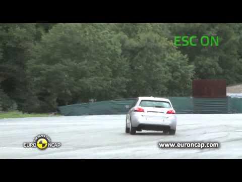 Euro NCAP | Peugeot 308 | 2013 | Электронный контроль устойчивости
