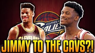 JIMMY BUTLER TRADE TO THE CAVALIERS?! NBA OFFSEASON MADNESS!