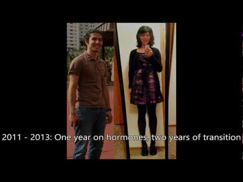 Just Another Transition Video   1yr Hrt  Mtf