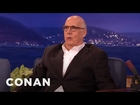 Jeffrey Tambor's Tips On Being A Talk Show Sidekick  - CONAN on TBS