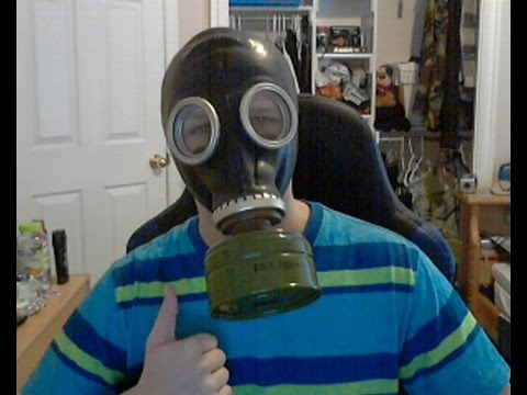 GP-5 Gas mask unboxing/ review