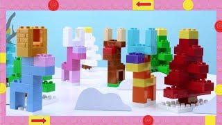 LEGO DUPLO How To - Build A Reindeer - DIY Builds