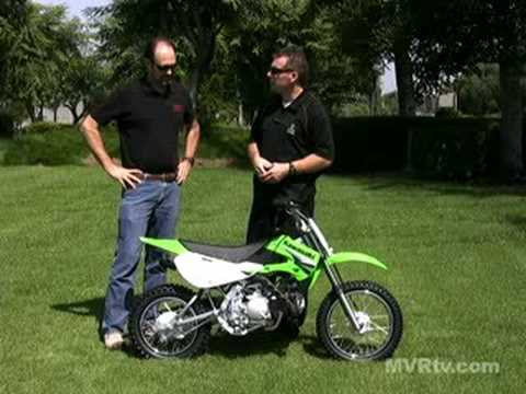 Quick Look - 2009 Kawasaki KLX110 Video