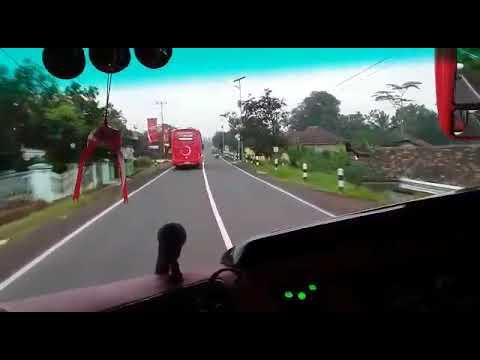 Perjalanan bus mitra rahayu bandung